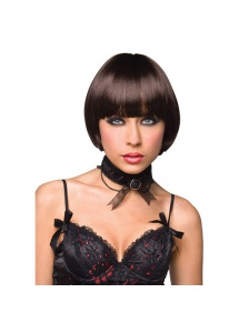 SexShop - Peruka Pleasure Wigs - model Celine Wig Brown - online