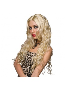 SexShop - Peruka Pleasure Wigs - model Jennifer Wig Platinum Blonde - online