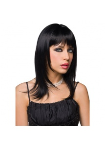 SexShop - Peruka Pleasure Wigs - model Steph Wig Black - online