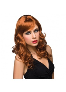 SexShop - Peruka Pleasure Wigs - model Aubrey Wig Red - online