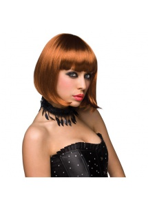 SexShop - Peruka Pleasure Wigs - model Cici Wig Red - online