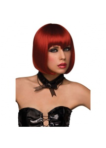 SexShop - Peruka Pleasure Wigs - model Vamp Wig Burnt Red - online