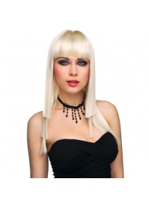 SexShop - Peruka Pleasure Wigs - model Lola Wig Blonde - online