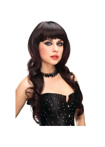 SexShop - Peruka Pleasure Wigs - model Jenna Wig Brown - online