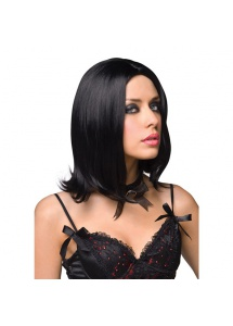 SexShop - Peruka Pleasure Wigs - model Shannon Wig Black - online