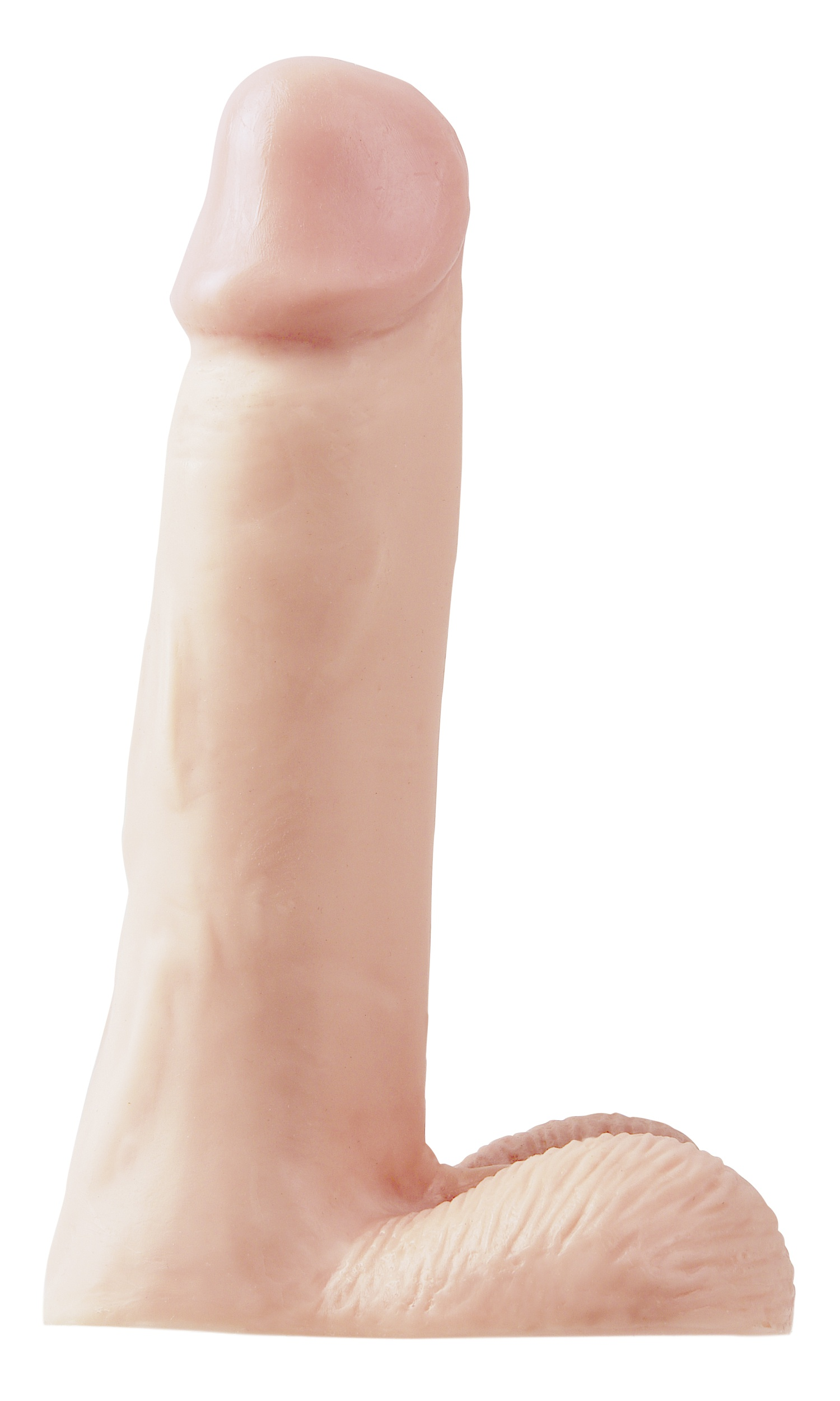 "SexShop - Dildo realistyczne - PIPEDREAM Basix Rubber Works 8"" Dong naturalny - online"