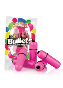 SexShop - Wibrator mini - The Screaming O Color Pop Bullets Pink  - online