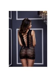 SexShop - Koszulka w stylu gorsetu - Baci Ultra Corset Lace Up Cut Out Mini Dress  - online