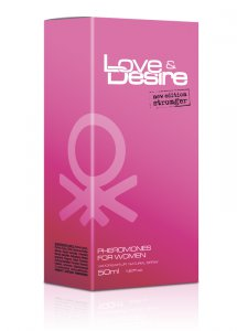 Sexshop - 50 ml - Perfumy z feromonami Love & Desire damskie - online