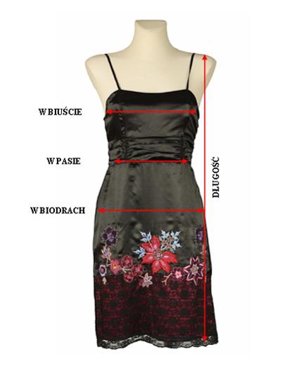 Mierzenie - sukienka